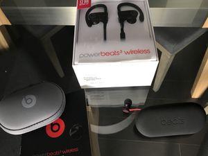 Package Combo Deal!!! 1. Urbeats audio by Dre Beats (earbuds) 2. Drebeats2 Wireless 3. Powerbeats3 Wireless $300.00 OBO for Sale in Santa Monica, CA