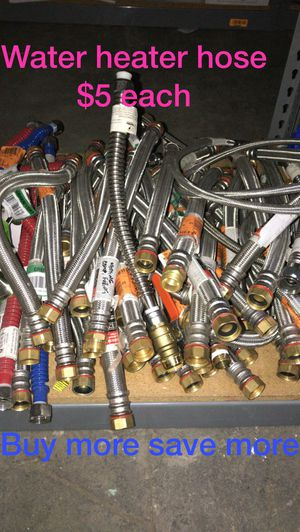 Water heater hose buy more save more for Sale in Bakersfield, CA