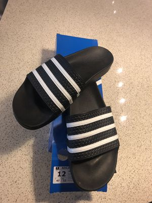 Adidas men's slide for Sale in Rockville, MD