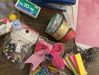 Stationary Supplies, Tapes, Pins for Sale in Bellevue,  WA