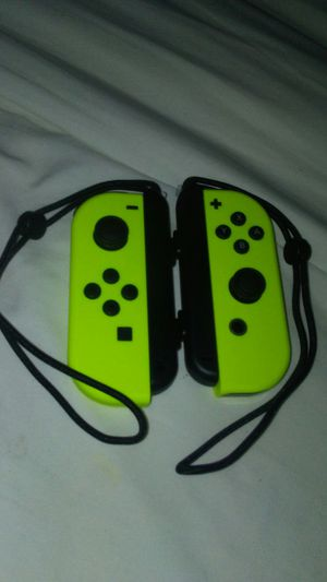 Neon Yellow Nintendo Joy-Con for Sale in Montrose, CO