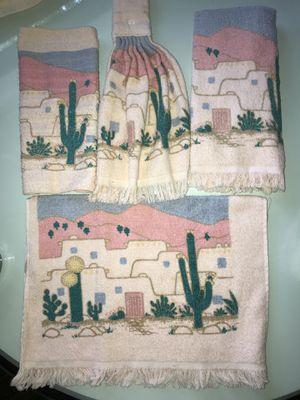 Southwest design kitchen towel set for Sale in Bloomingdale, IL