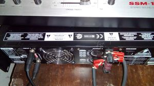 Amplifier, mixer, 2 speakers with stands, trade for auto scanner same price for Sale in Brooklyn, OH