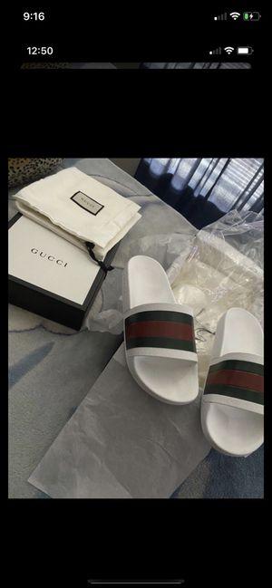 Gucci slides size 7 for Sale in Denver, CO