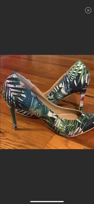 JustFab Floral Tropical Heels for Sale in Van Etten, NY