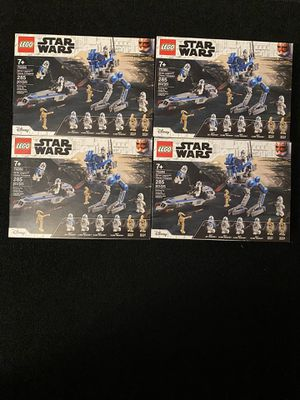 501st battle pack 75280 for Sale in Sacramento, CA
