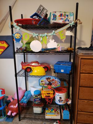 Metal wire rack type shelving unit for Sale in Vancouver, WA