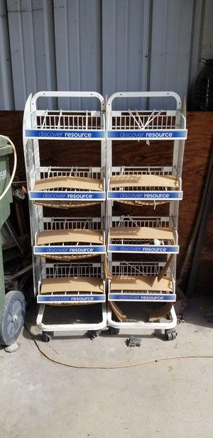 Store rolling shelf for Sale in Tucson, AZ