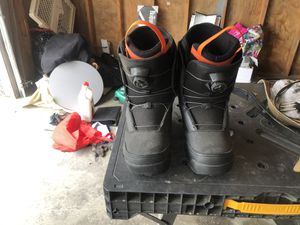 HMK snowmobile/ snow board boots. for Sale in Tacoma, WA