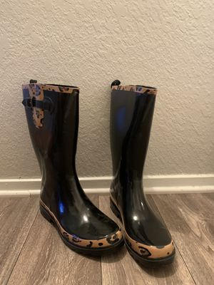 Cheetah Rain Boots for Sale in Apple Valley, CA
