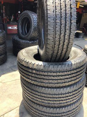 275/70R18 Firestone Tires (4 for $400) for Sale in Santa Fe Springs, CA