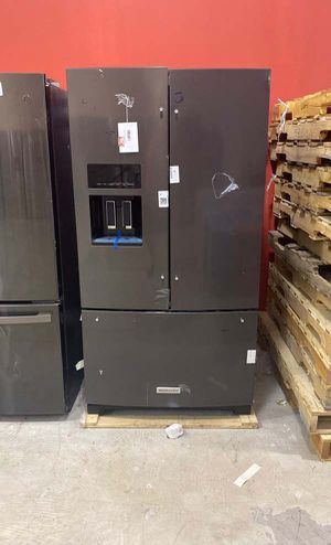 Kitchen aid KRFF507HBS refrigerator 🤩🤩🤩 4Z76 for Sale in San Antonio, TX