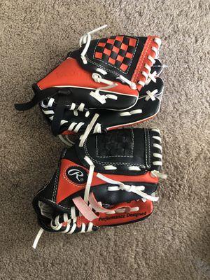 Kids Baseball Gloves (2) for Sale in Fresno, CA
