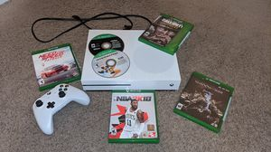 Xbox One S with 6 Games for Sale in Cranston, RI