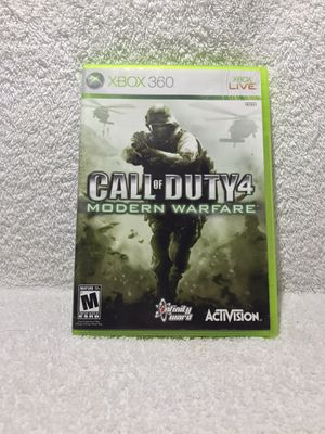 Call of Duty 4 Modern Warfare - Xbox 360 for Sale in Graham, WA