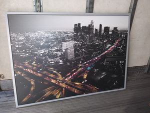 City picture frame 55x40. for Sale in Los Angeles, CA