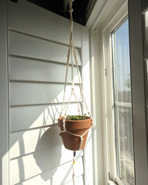 Lakers Macrame plant hanger handmade for Sale in West Covina, CA
