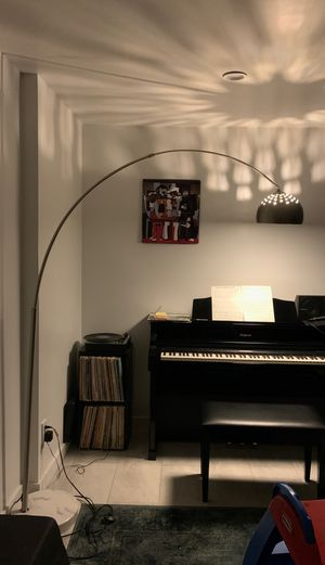 Arc lamp with marble base for Sale in Tustin, CA