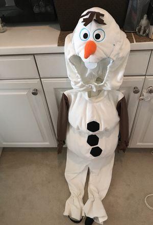 NEW Disney Olaf costumes Size 4 $30 for Sale in Glendora, CA