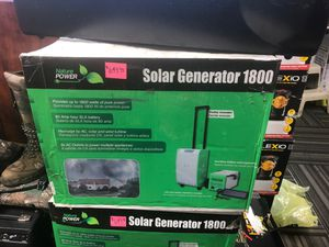 New nature power solar generator 1800 W for Sale in Dallas, GA