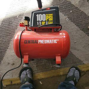 3 gal1/3:hp compressor for Sale in Placentia, CA