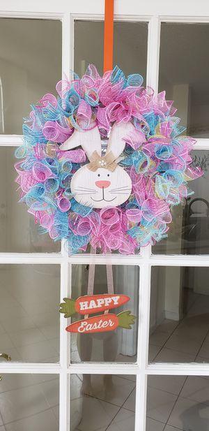 Bunny wreath for Sale in Orlando, FL