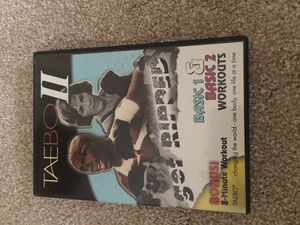 TaeBo II dvd work out set for Sale in North Bethesda, MD