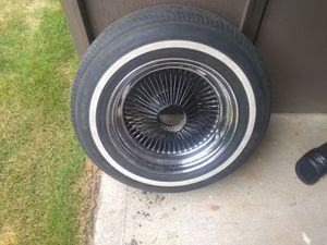 14/7 chrome D's w/ black spokes for Sale in Federal Way, WA