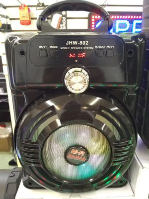 Bluetooth Speaker $50.00 with FM radio for Sale in Washington, DC
