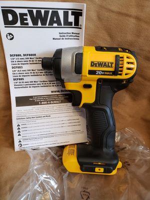 """DEWALT 20V MAX 1/4"""" IMPACT DRILL - NEW for Sale in Livonia, MI"""