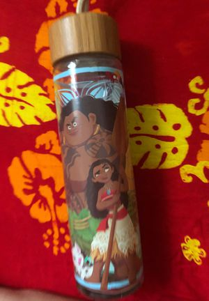 New Unused Moana Collectible Glass Bottle for Sale in Fairfield, CA