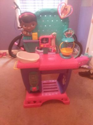 Dr mcstuffins play vet checkup play center for Sale in Mooresville, NC