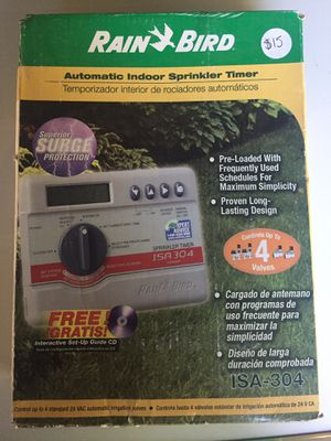 Sprinklers systems Timer Rain Bird for Sale in San Antonio, TX