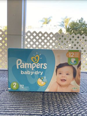 Size 2 pampers for Sale in Fontana, CA