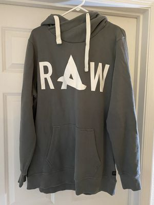 G-Star Raw Hoodie Grey size XL for Sale in Manassas, VA