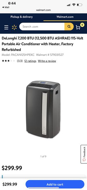 Portable ac unit AND heater - brand new for Sale in Hilliard, OH