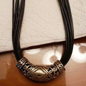 Black and Silver Necklace for Sale in Winter Haven, FL