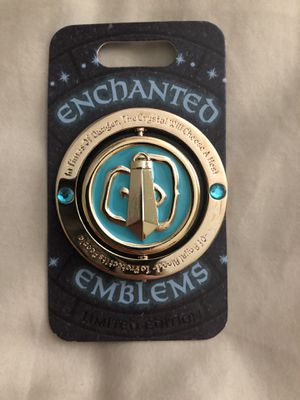 Disney pin enchanted emblem for Sale in Mauldin, SC
