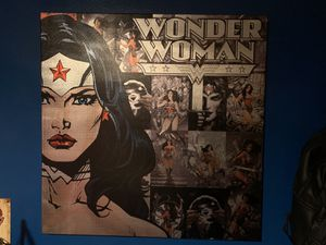 Wonder Woman canvas for Sale in Tyler, TX
