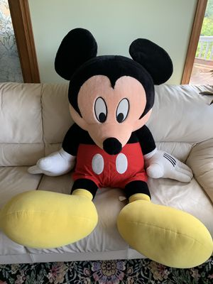 Disney Vintage y2k 5' Life Sized Stuffed Mickey Mouse Doll for Sale in Carnegie, PA