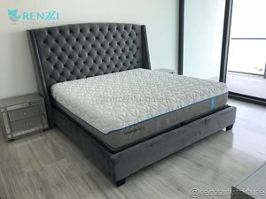 Bed Frame ( Brand New ) // financing Available for Sale in Miami, FL