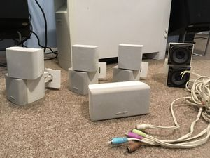 Bose Surround Speakers and Subwoofer for Sale in Queens, NY