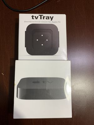 Brand New Apple TV 3 rd Gen. with mount for Sale in Houston, TX