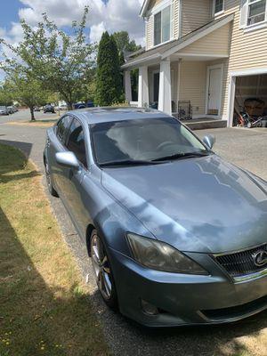 Lexus is250 RWD REBUILT TITLE for Sale in Renton, WA
