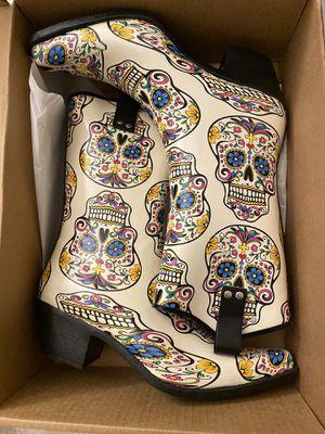 Brand New Blazin Roxx Rain Cowboy Boots w/ matching umbrella for Sale in Las Vegas, NV