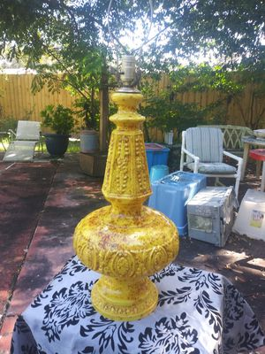 Vintage Lamp circa 1970 for Sale in Tampa, FL