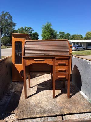 Antique rolltop desk for Sale in Orlando, FL