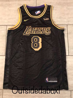 Los Angeles Lakers Kobe Bryant Black Mamba Edition Jersey Men's size XL for Sale in Pomona, CA