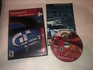 COMPLETE Sony PlayStation 2 PS2 Greatest Hits Gran Turismo 3 A-Spec for Sale in Albany, OR