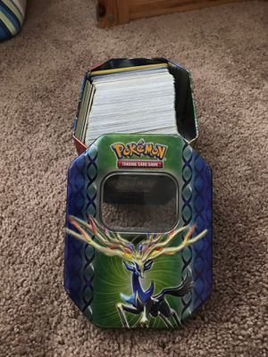 Pokémon Cards with Tin Storage Box for Sale in Ontario, CA